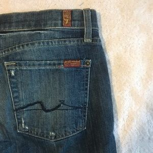 7 for All Mankind Roxanne Skinny Jeans 30